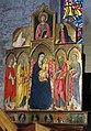 Bolsena, s. cristina, chiesa maggiore, int., polittico di sano di pietro 02.JPG