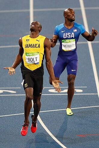 Athletics at the 2016 Summer Olympics – Men's 200 metres - Image: Bolt conquista tricampeonato também nos 200 metros 1038880 18.08.2016 ffz 8105