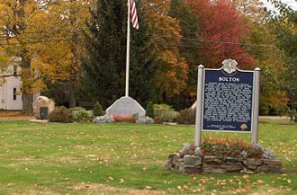 National Register of Historic Places listings in Tolland County, Connecticut - Image: Bolton Green Historic District