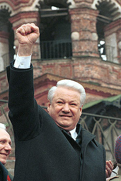 Boris Nikolajevitsj Jeltsin in 1993