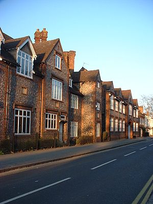 Sir William Borlase's Grammar School - Front of SWBGS