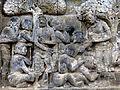 Borobudur - Lalitavistara - 022 S, Queen Maya heals the Sick (detail 1) (11247559675).jpg