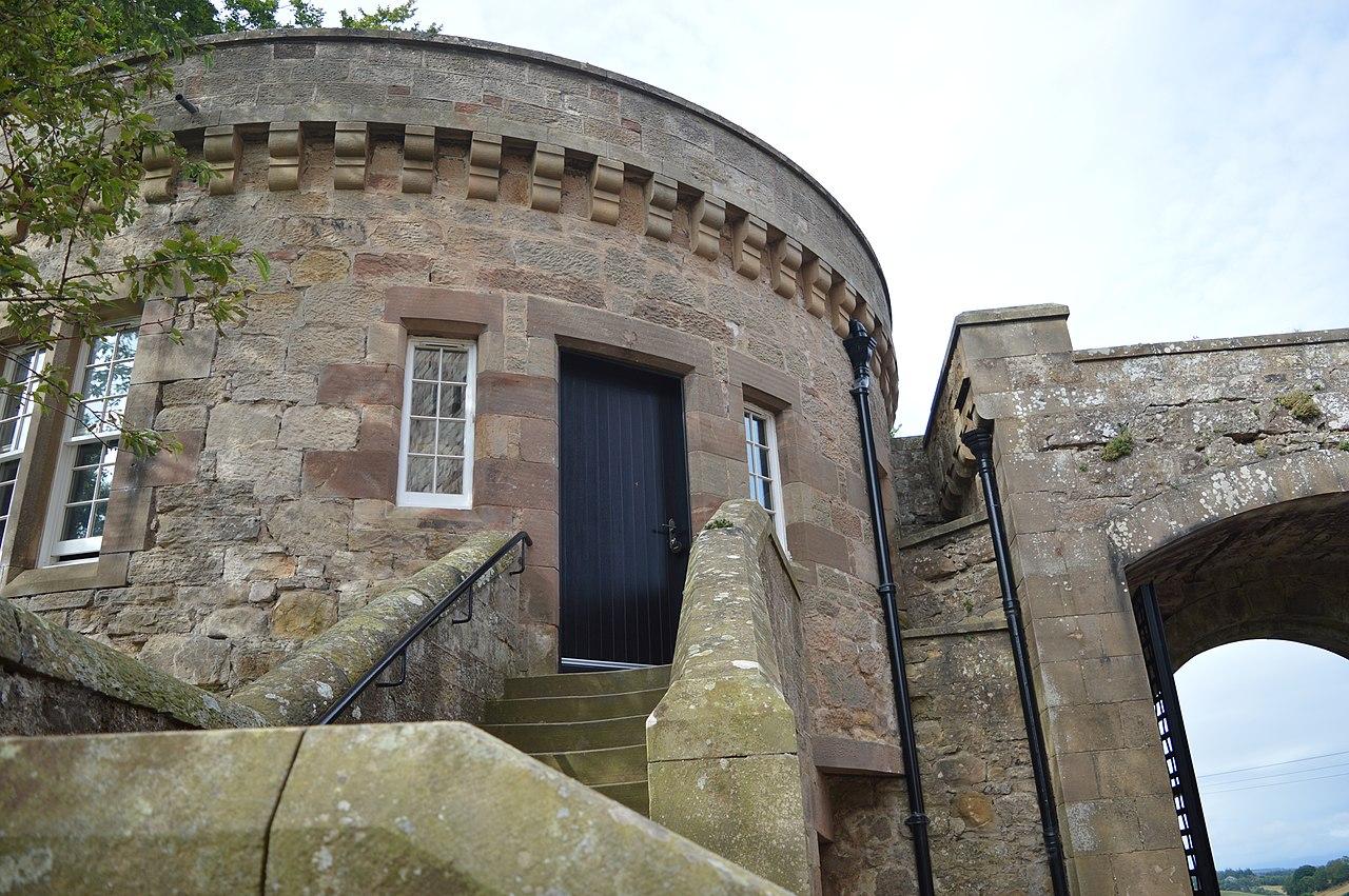 Borthwick Castle gatehouse
