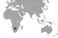 Botswana South Korea Locator.png
