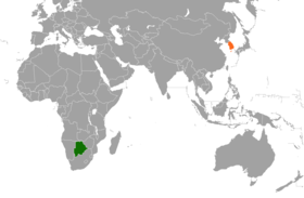 Botswana South Korea Locator.png