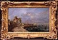 Bottega di francesco guardi, capriccio con rovine e porto di mare, 1750-90 ca..JPG