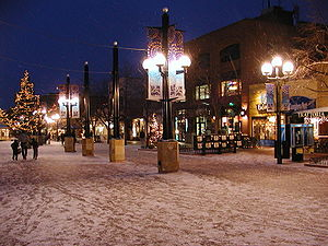 Pearl Street Mall - Pearl Street Mall in Boulder, Colorado.