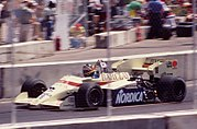 Arrows D7 driven by Thierry Boutsen at the 1984 United States Grand Prix