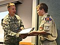 Boy Scouts receive awards for care packages DVIDS485511.jpg