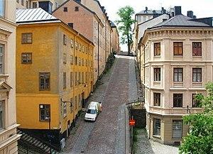 Södermalm - Brännkyrkagatan on Södermalm.