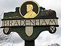 Bradenham - village sign - geograph.org.uk - 710041.jpg