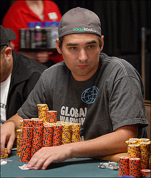Brandon Cantu - Cantu at the 2008 World Series of Poker
