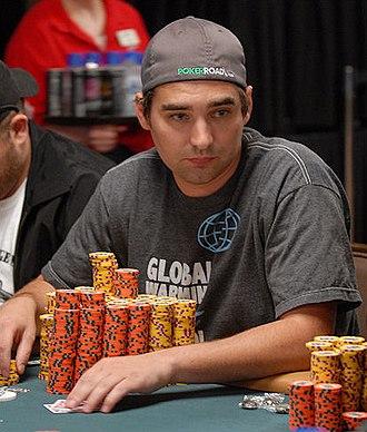 Brandon Cantu - Cantu at the 2008 World Series of Poker
