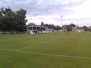 Brantham Athletic F.C. - Brantham's home ground