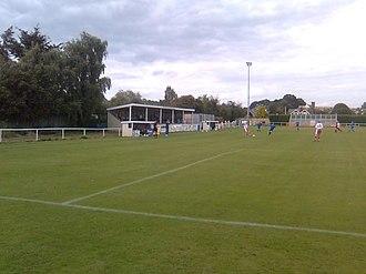 Brantham Athletic F.C. - Brantham's home ground