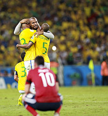 Brazil and Colombia match at the FIFA World Cup 2014-07-04 (22).jpg