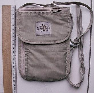 Wallet - A breast wallet