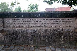 Max Simon - Brettheim memorial
