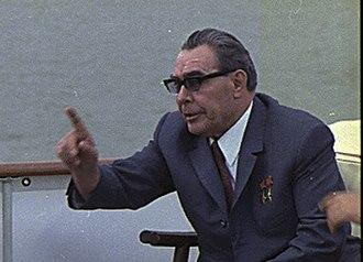 Cold War (1979–1985) - Image: Brezhnev 1973 2