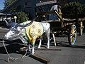 Bridgeport, CA, Main Street, 2008 Vacationing Oxen Hauling URL, 2008 - panoramio.jpg