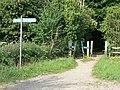 Bridleway junction - geograph.org.uk - 1336725.jpg
