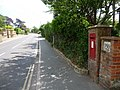 Bridport, postbox No. DT6 83, West Bay Road - geograph.org.uk - 1364957.jpg