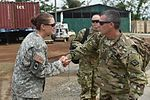 Brig. Gen. Bacon meets with Task Force Red Wolf service members during Exercise BEYOND THE HORIZON 2016 GUATEMALA (Image 1 of 7) 160524-F-RC891-012.jpg