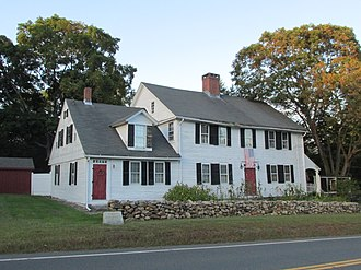 National Register of Historic Places listings in Tolland County, Connecticut - Image: Brighams Tavern, Coventry CT