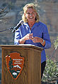 Bright Angel Trailhead Renovation Dedication- Susan Schroeder - May 18, 2013 - 0185 - Flickr - Grand Canyon NPS.jpg