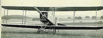 1912 British Military Aeroplane Competition - No. 12 a Bristol Gordon England biplane, pilot C. Howard Pixton