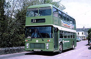 Bristol VR - Western National Bristol VR in Saltash in May 1979