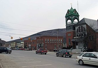 National Register of Historic Places listings in Addison County, Vermont - Image: Bristol vermont main street