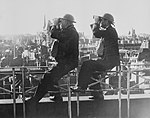 Britain's Home Front 1939 - 1945- Roof Spotters HU86169.jpg