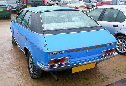 British Leyland Princess HL 1979 rear