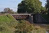 foto van Werk op de spoorweg bij de Diefdijk: kraanbrug