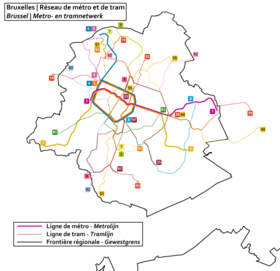Image illustrative de l'article Tramway de Bruxelles