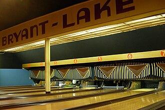 Bryant-Lake Bowl - Bowling lanes at Bryant-Lake