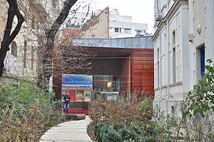 Elvira Popescu - The cinema Salǎ Elvire Popescu at the Institut Français de Roumanie in Bucharest is named in Popescu's honor