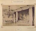 Budapesti Királyi Palota, fogadóterem. A falon Eduard von Engerth festménye- Ferenc József királlyá koronázása (1872). - Fortepan 83519.jpg