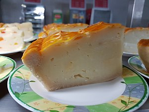 Buko pie - A slice of buko pie