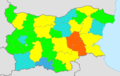 Bulgaria total fertility rate by region 2013.png