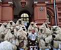 Bulgarian crowded by mummers celebrating Shrovetide in Moscow.jpg