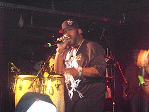 Bun B discography - Performing live in August 2007.