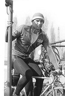 Lutz Heßlich East German cyclist