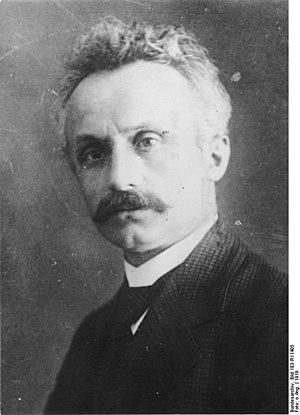 Carl Severing - Carl Severing in 1919.