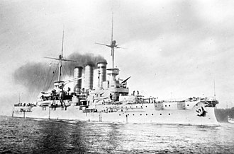 Braunschweig-class battleship - One of the Braunschweig-class battleships