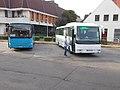 Bus Station, Volvo B10-400 (IES-059) and Credo IC12 (LHT-742), 2019 Szentes.jpg