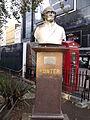 Bust of Hunter - Leicester Square Gardens, London (4039956898).jpg