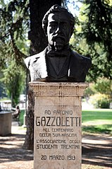 Monument to Antonio Gazzoletti