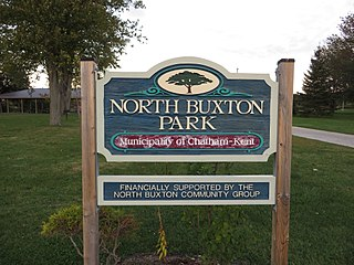 North Buxton dispersed rural community in Ontario, Canada